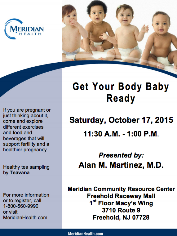Dr. Martinez flyer