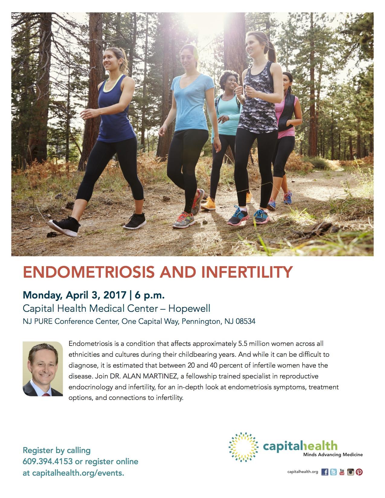 endometriosis infertility   RSC New Jersey