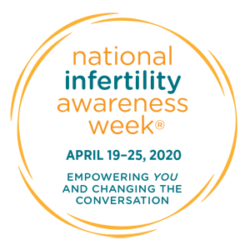 NIAW logo for National Infertility Awareness Week raffle for a mini IVF cycle | Reproductive Science Center of New Jersey
