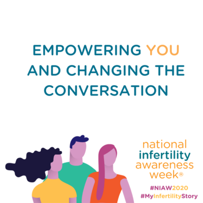 National Infertility Awareness Week 2020 Image | Reproductive Science Center of New Jersey