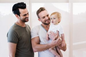 Male couple who used a gestational carrier | LGBT Family Building | RSC New Jersey