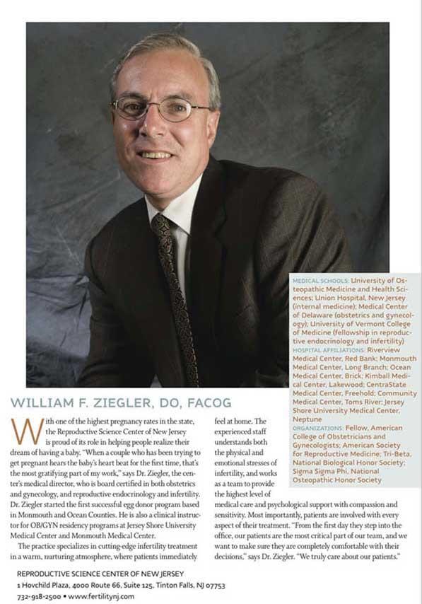 Top Doctors William Ziegler